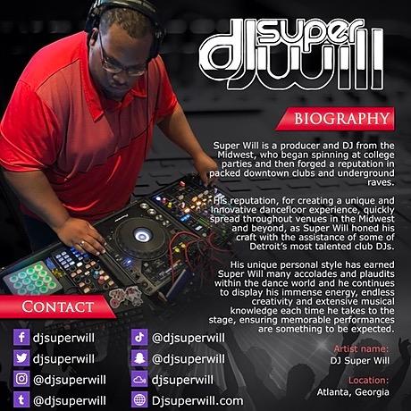 @DjSuperWill About DJ Super Will! (EPK) Link Thumbnail | Linktree