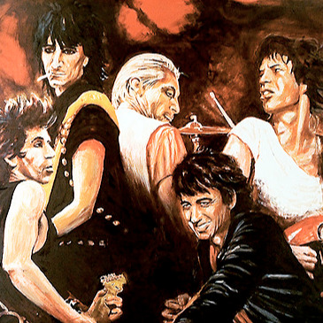 @ronniewood The Ronnie Wood Art Store Link Thumbnail | Linktree