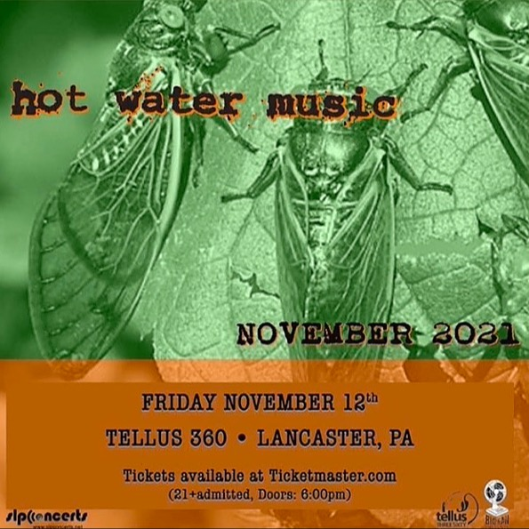 @Tellus36024EKing Hot Water Music 11/12 SOLD OUT! Link Thumbnail | Linktree