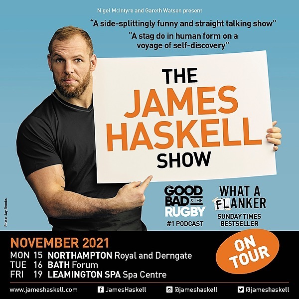 James Haskell The James Haskell Show Tour Link Thumbnail | Linktree