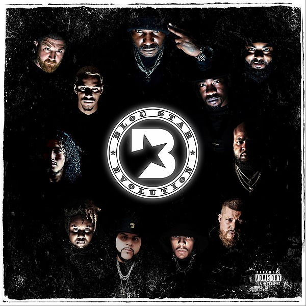 "Friday 2/26/21 at 6:00 PM PST X-Raided - ""Bloc Star Evolution"" Digital Album Link Thumbnail | Linktree"