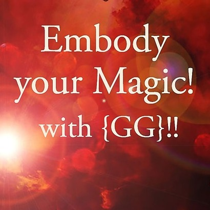 Embody your Magic Session with GG!  Book Today!!