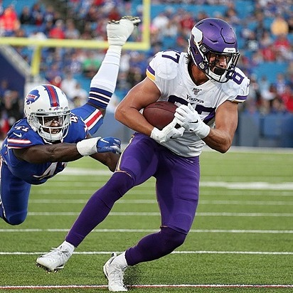 Giants Country Cole Hikutini, TE - 2021 Giants Training Camp Preview (Photo by JAMIE GERMANO/ROCHESTER DEMOCRAT AND CHRONICLE, Rochester Democrat and Chronicle via Imagn Content Services, LLC) Link Thumbnail   Linktree