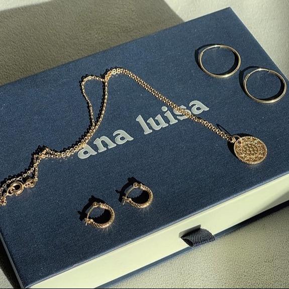 Ana Luisa Jewelry CODE: BEAUTYMARKMAKEOVERS12