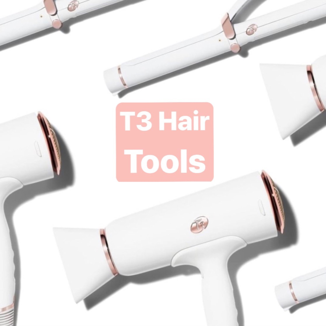 Shop T3 Hair Tools use code michelePRT320 for 20% off