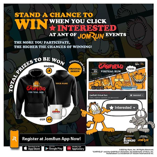 @garfieldvirtualrun Click 'Interested' and Win Link Thumbnail | Linktree
