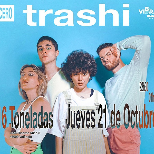 @cero.en.conducta Trashi en Valencia (21.10, 16 Toneladas)  Link Thumbnail | Linktree