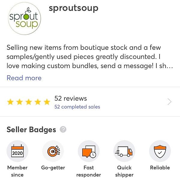 SproutSoup on Mercari