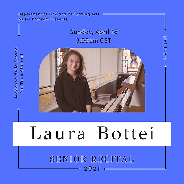 @lucmusicprogram Senior Recital - Laura Bottei Link Thumbnail | Linktree