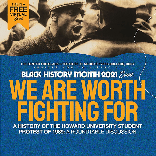 ":: WATCH VIDEO :: The Center for Black Literature Welcomes Dr. Joshua Myers, asha bandele, Mayor Ras J. Baraka, and April R. Silver for a Discussion of ""We Are Worth Fighting For"""