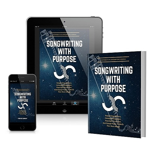 """@gabigalinsky """"Songwriting With Purpose"""" (Interactive Ebook + Physical Journal) Link Thumbnail 