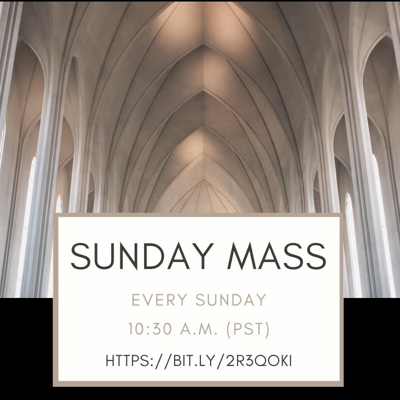 Sunday Mass with Fr. Brendan