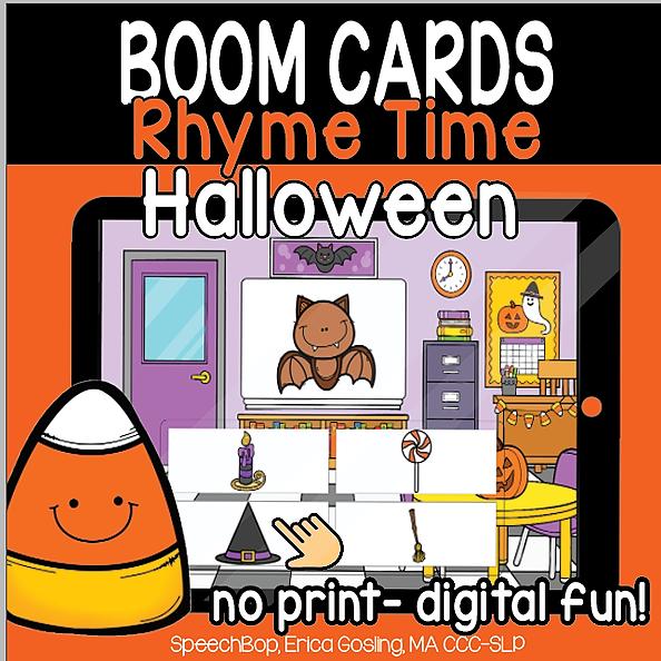 Halloween Rhyme Time