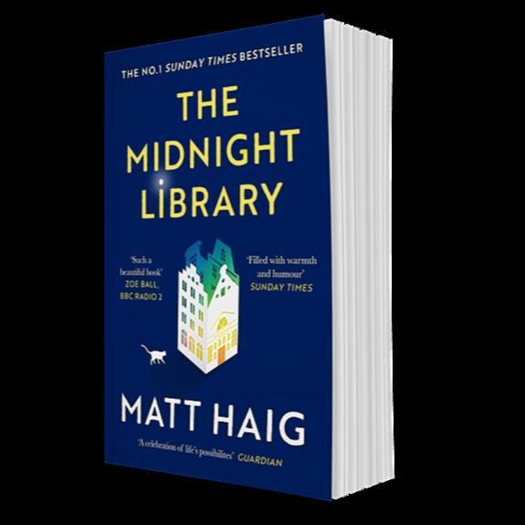 Shop Matt Haig's books UK: Buy The Midnight Library on Amazon Link Thumbnail | Linktree