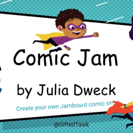 @GiftedTawk Comic Book Jam *ELA Link Thumbnail | Linktree