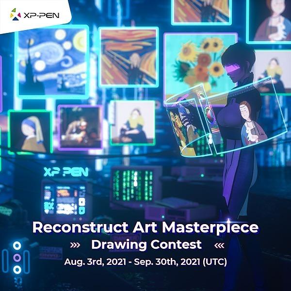 XP-PEN USA Reconstruct Art Masterpiece Contest Link Thumbnail   Linktree