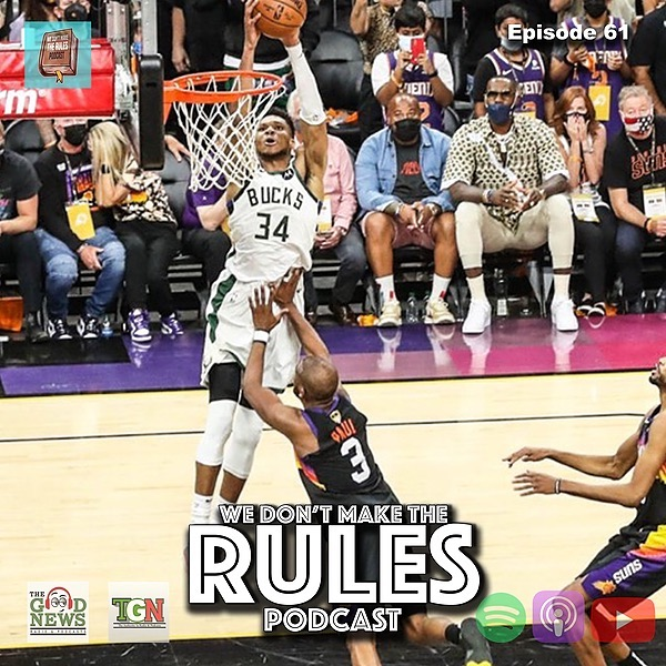 We Dont Make The Rules Podcast Latest Episode: Spotify Link Thumbnail   Linktree