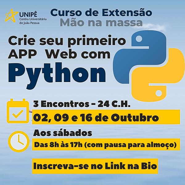 @profdanielbrandao Curso Desenvolvendo Aplicação Web com Python [Presencial] Link Thumbnail | Linktree