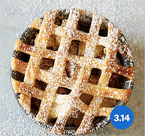 It's Pi(e) Day! Try this WW Mini Apple Ginger Pie Recipe