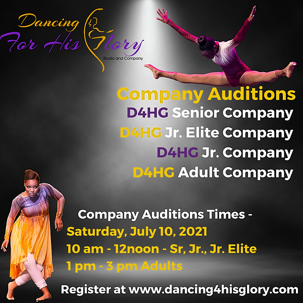 @D4HG Company Auditions Link Thumbnail | Linktree