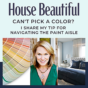 House Beautiful: Can't Pick a Paint Color?