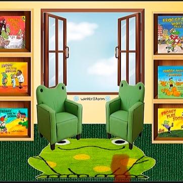 @WinterStorm Froggy Book Room Link Thumbnail   Linktree