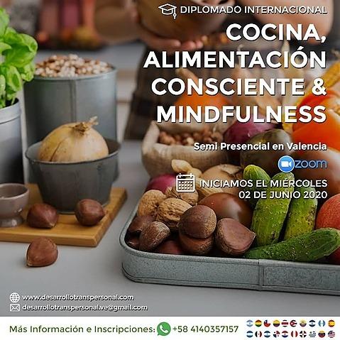 Diplomado de cocina, alimentación  consciente y mindfulness