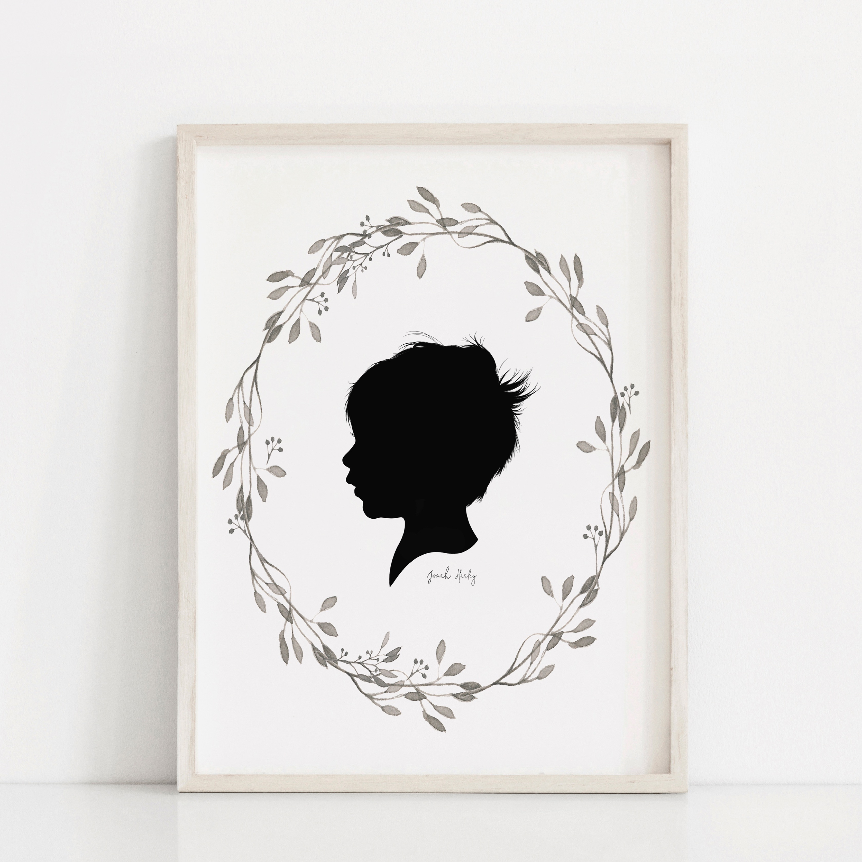 Shop Hand Drawn Silhouette Portraits