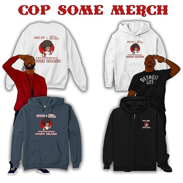 WYB Coney Island Merchandise