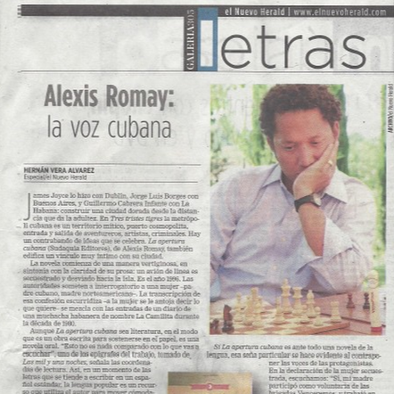 @elnuevoherald: Alexis Romay: La voz cubana
