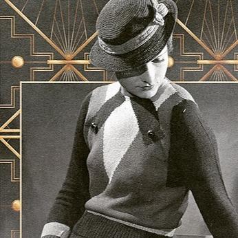 Nikki Wanderlost Esty - Repro Vintage Knitting Patterns Link Thumbnail | Linktree