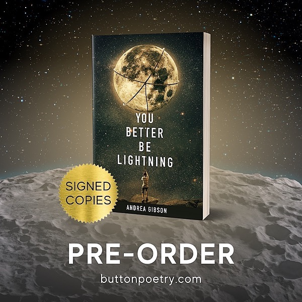 """www.AndreaGibson.com Pre-order """"You Better Be Lightning"""" 
