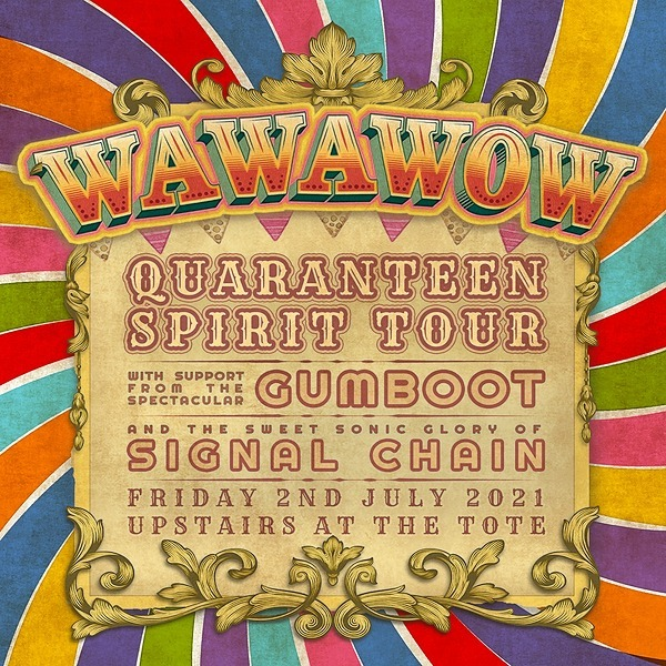 @wawawow MELB Tix POSTPONED TO 4TH SEP: WAWAWOW at the Tote w Signal Chain Link Thumbnail | Linktree