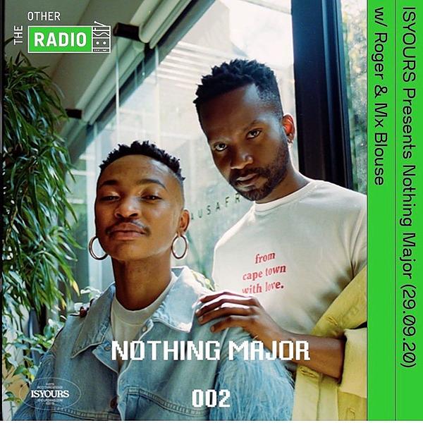 @imtrxstxssx ISYOURS Presents Nothing Major w/ Roger & Mx Blouse (29.09.20) Link Thumbnail | Linktree