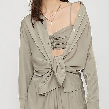 @coraliescloset Isabel Maxi Button-Up Shirt Link Thumbnail   Linktree