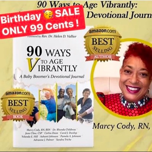 Age Vibrantly Tips Podcast Marcy's eBook Birthday Sale! Link Thumbnail | Linktree