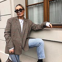 @fashionhr Karirani blejzer: sjajan odabir za ovo prijelazno razdoblje Link Thumbnail | Linktree