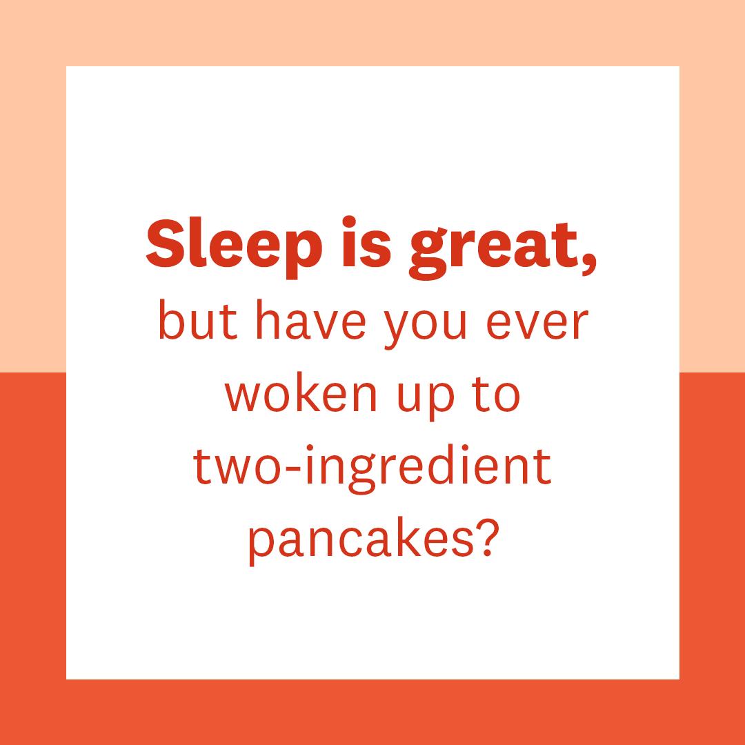 Two-Ingredient Banana Lover Flourless Pancakes Recipe