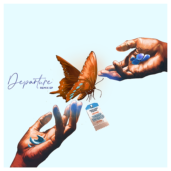 """@Throughtheroots STREAM NOW: """"Departure"""" Remix EP Link Thumbnail   Linktree"""