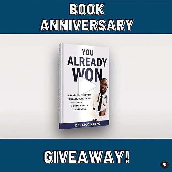 Book Anniversary Giveaway! (29 Winners)