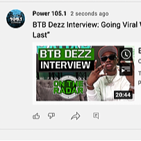 PR + MKTG + MGMT BTB Dezz Drops New Single Dangerous Ft Yung K.A [Watch Interview By Power1051/OnTheRadar] Link Thumbnail | Linktree