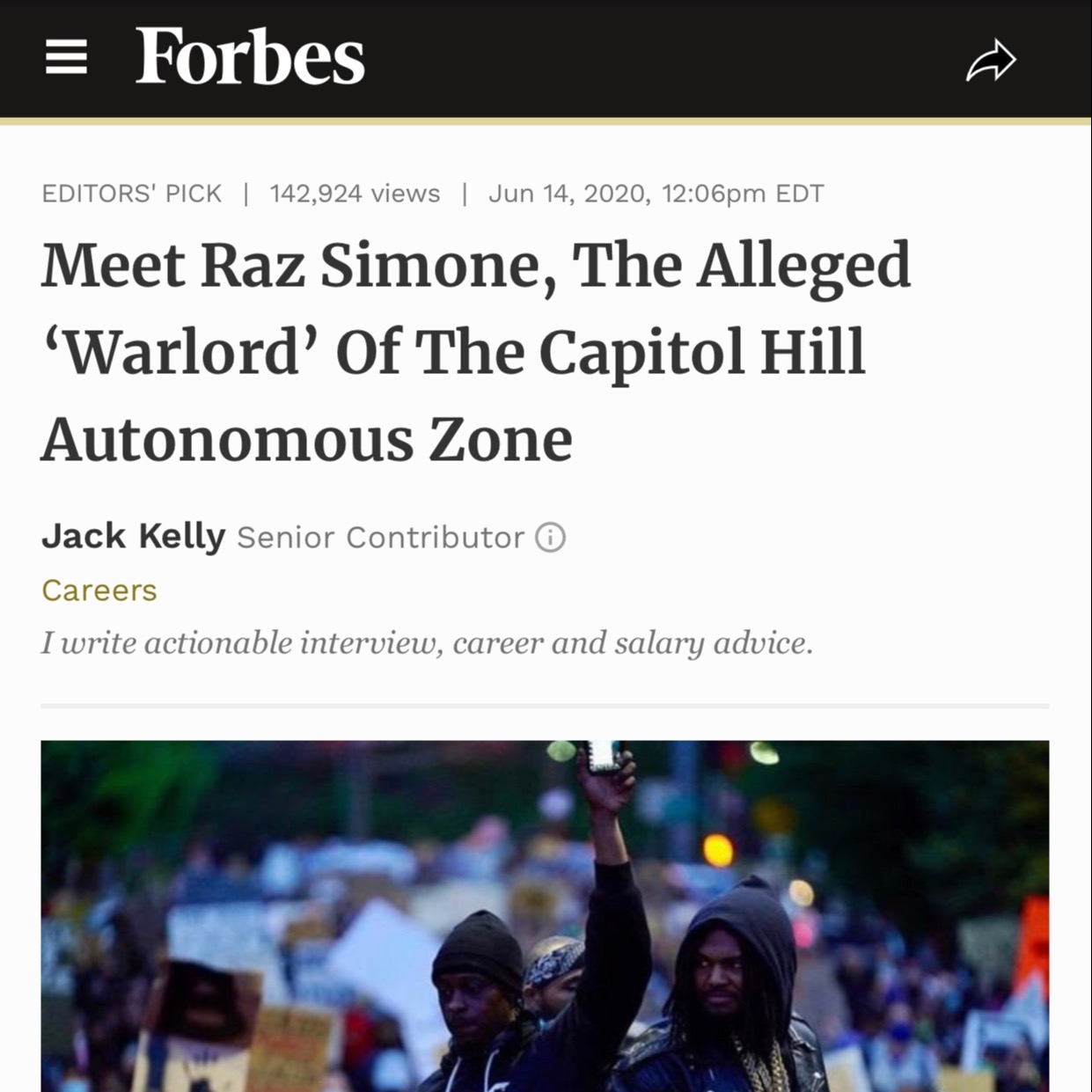 FORBES Warlord Article