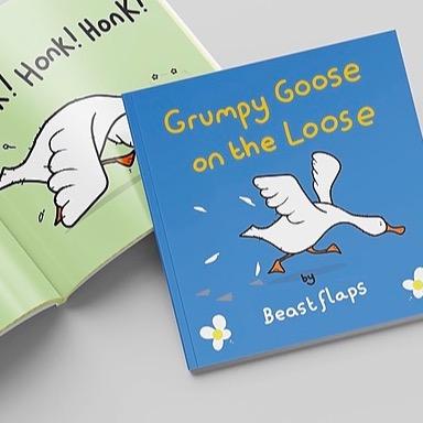 NEW! Grumpy Goose
