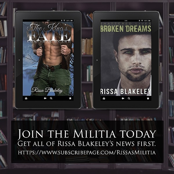 JOIN RISSA BLAKELEY'S MILITIA TODAY!