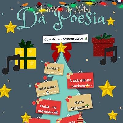 Árvore de Natal da Poesia