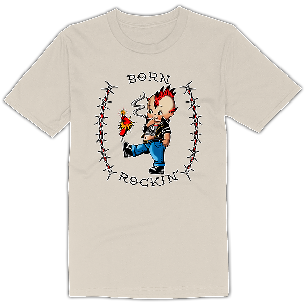 @Tbshakedown Born Rockin' Tee Shirt Link Thumbnail | Linktree