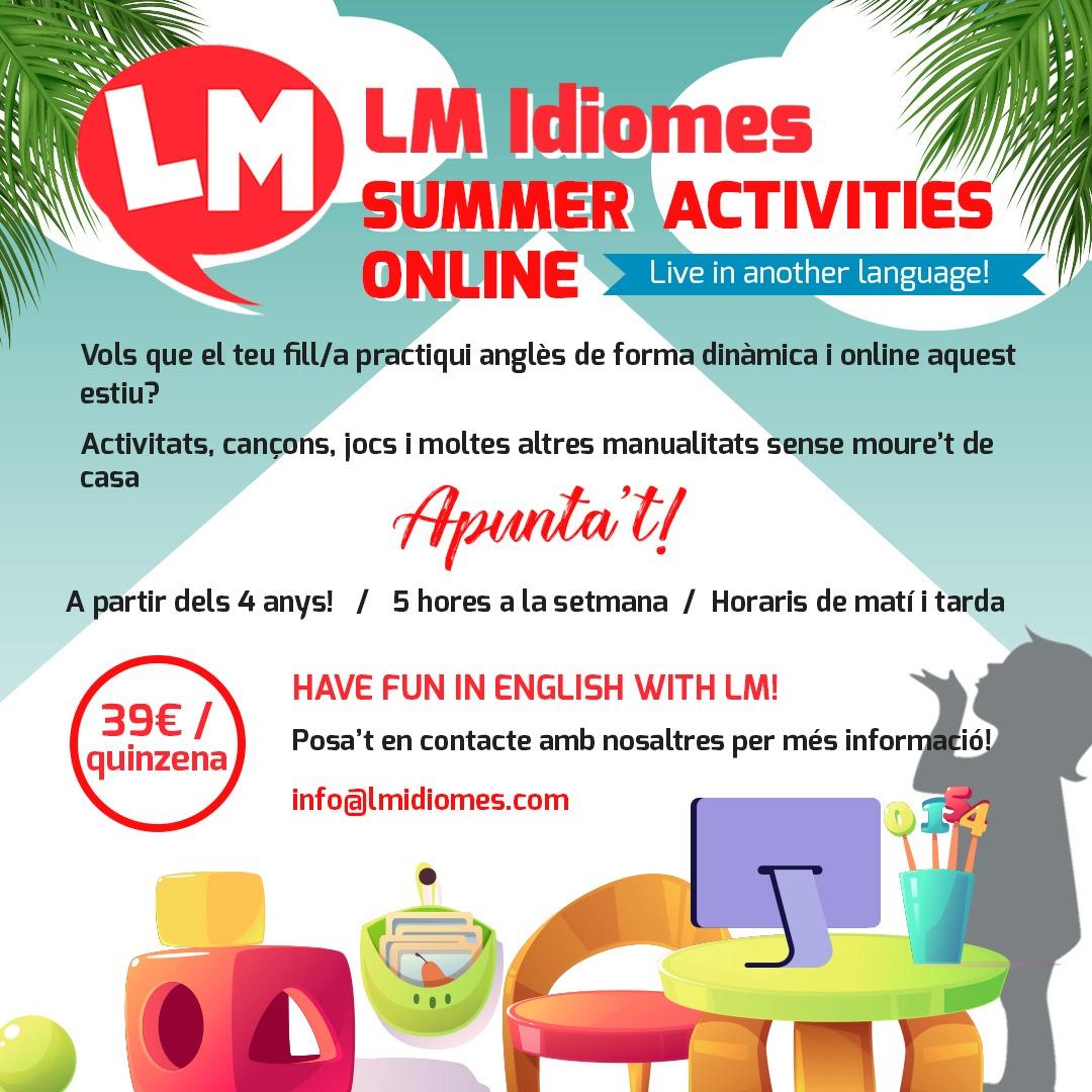 @lmidiomeslleida Summer Activities 2020   Online Link Thumbnail   Linktree