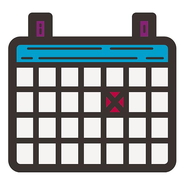 Calendar at Club Website