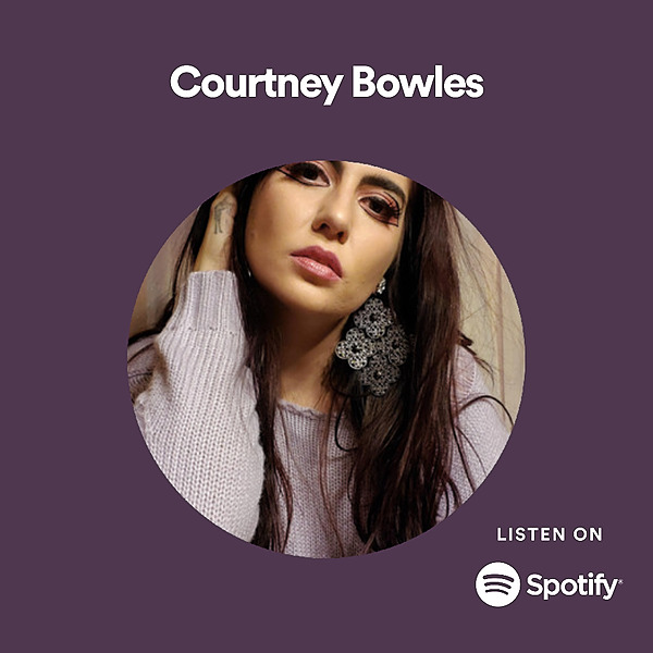 @Courtneybowlesmusic SONGS on Spotify Link Thumbnail   Linktree