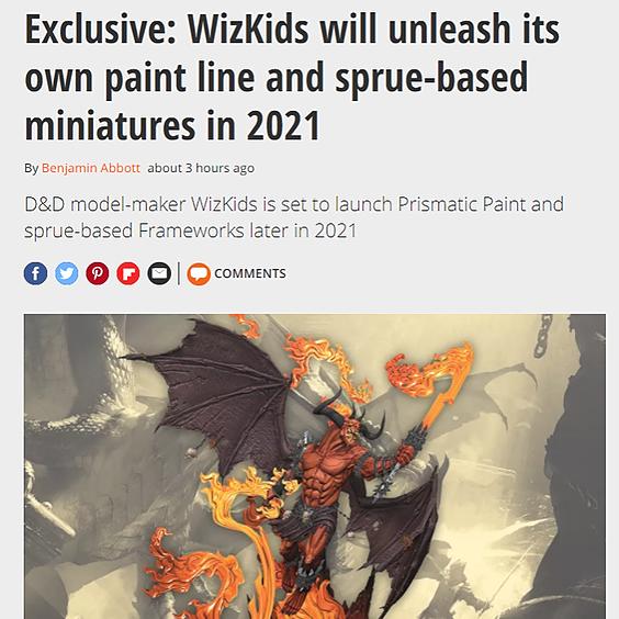 WizKids Official GamesRadar+ Exclusive: Prismatic Paints and Sprue Link Thumbnail | Linktree